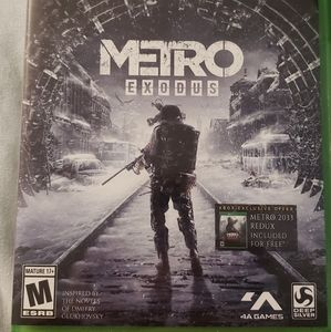 Metro Exodus on Xbox One